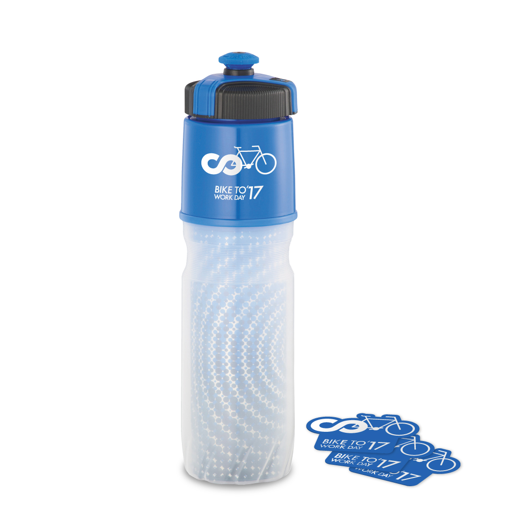 CUSTOM DESIGNED Insulated BPA-Free Squeeze Bottle AND VINYL DECALS