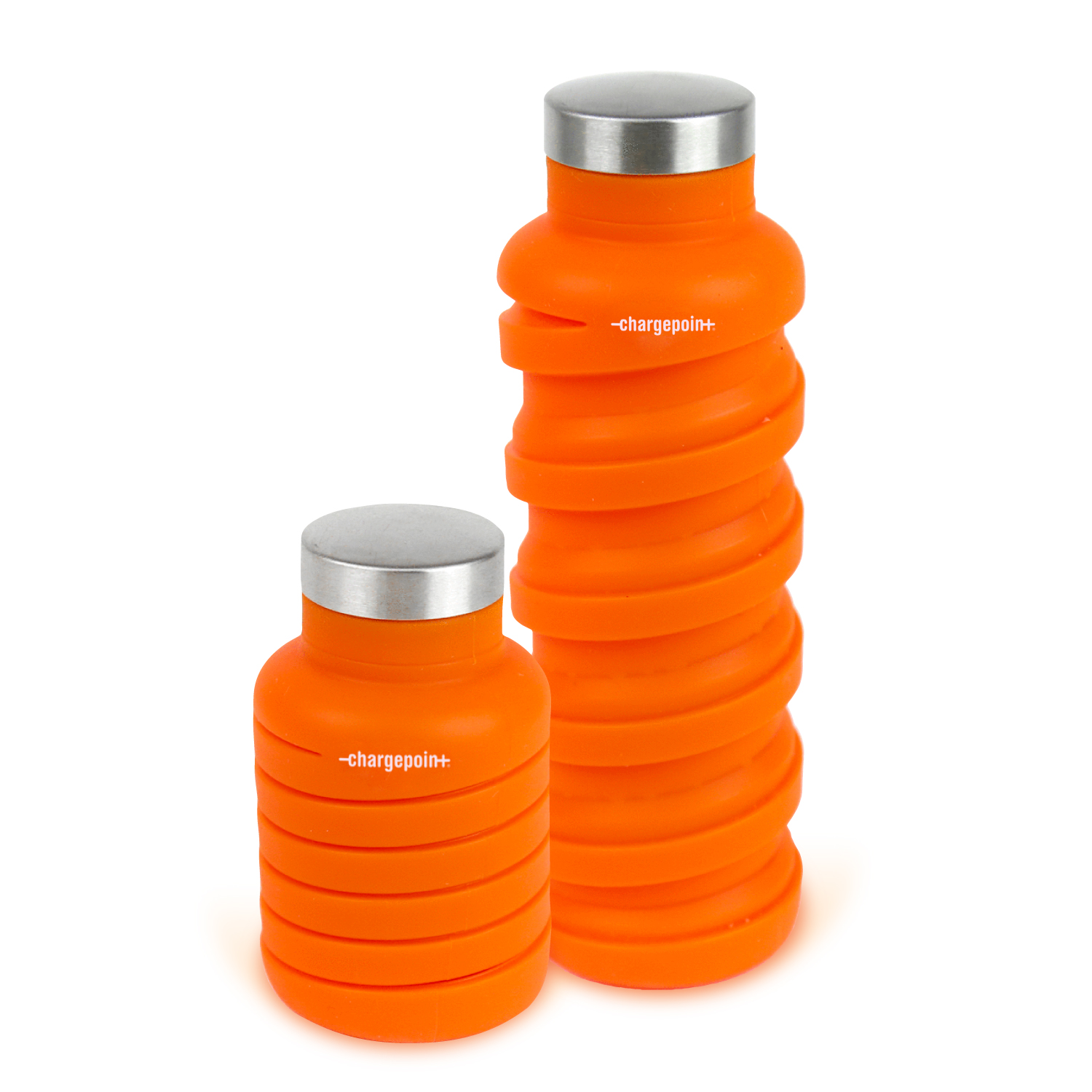 CHARGEPOINT QUE COLLAPSIBLE WATER BOTTLE