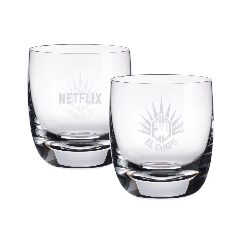 CUSTOM DESIGNED EL CHAPO TEQUILA GLASSES