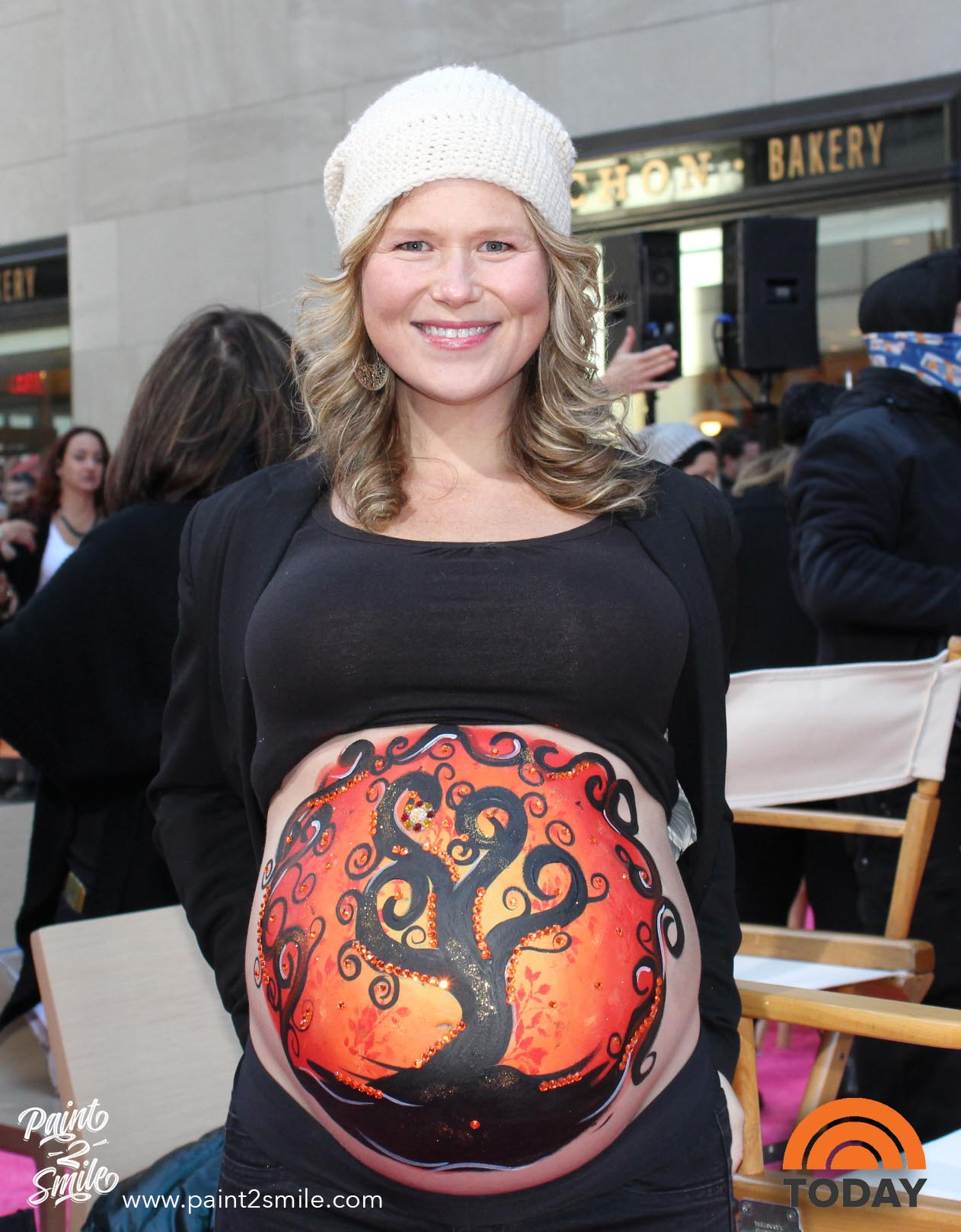 belly painting today show