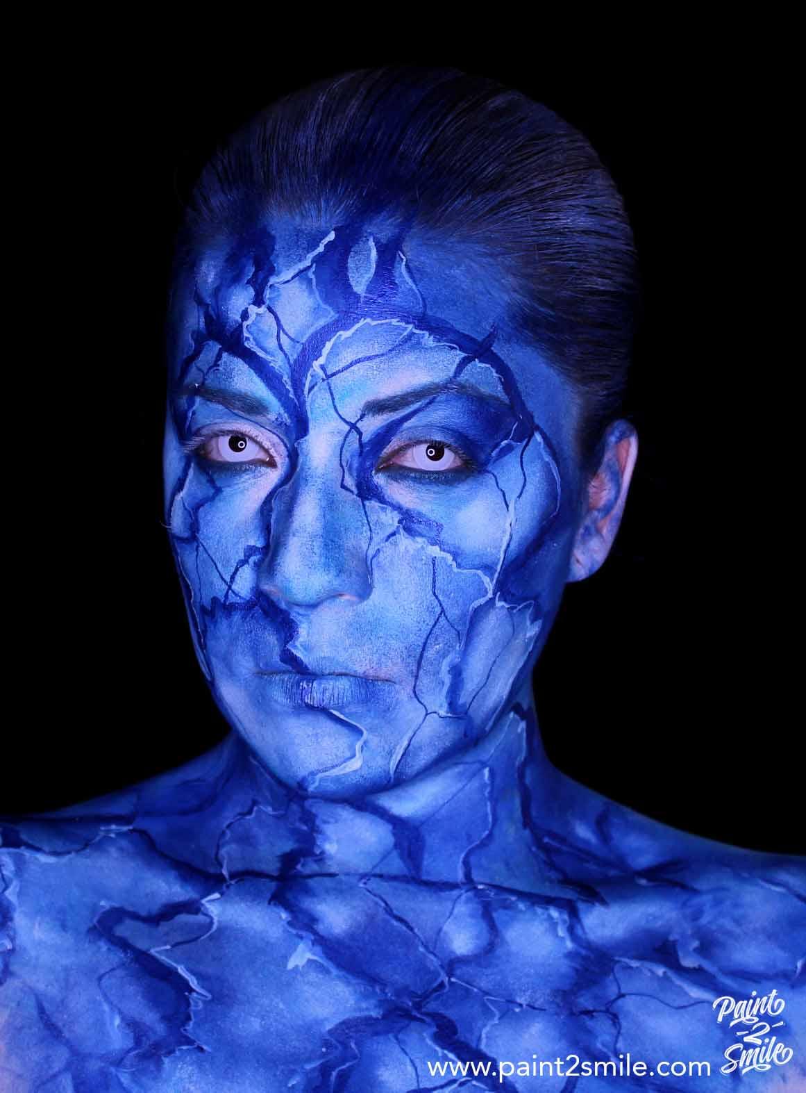 frozen adult face painting
