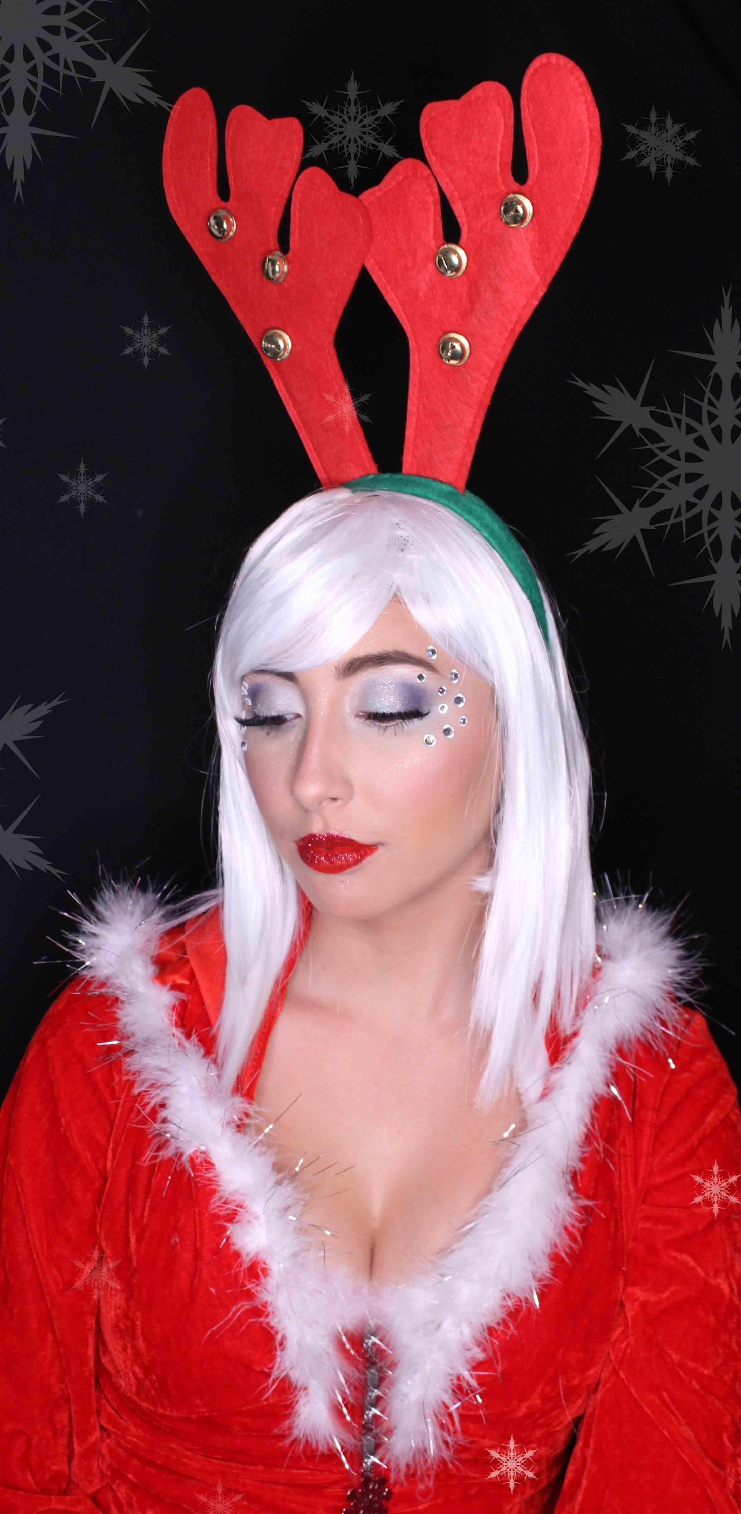 Santa's helper adult makeup