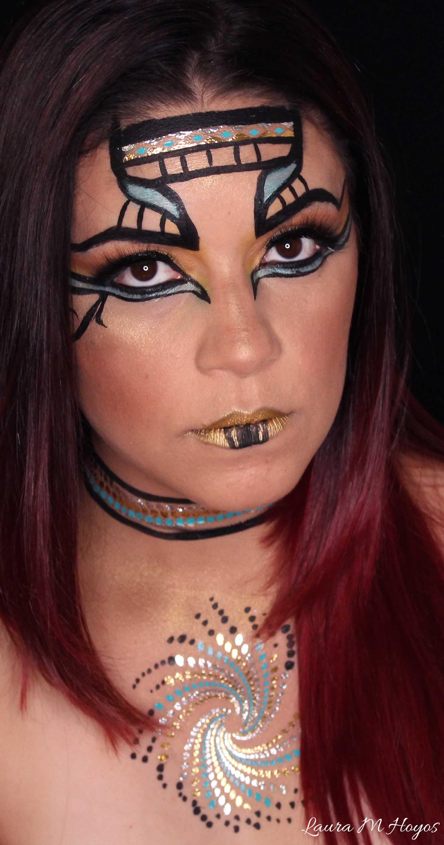 Cleopatra inspired Makeup