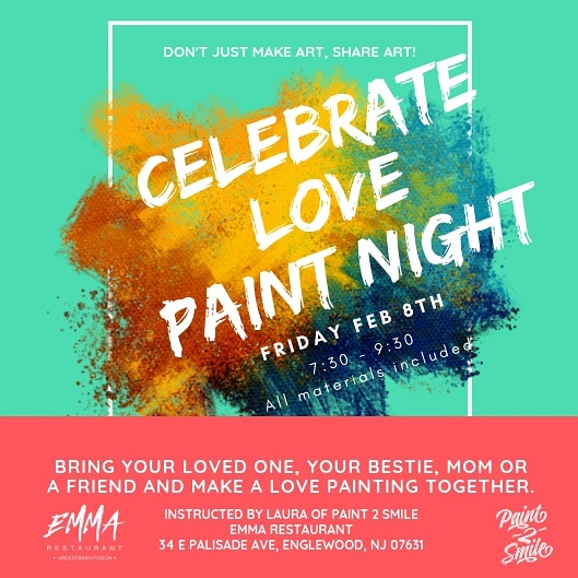 Next Paint Party is Friday February 8th