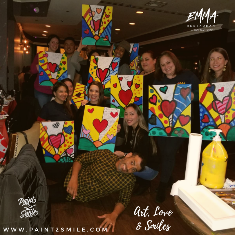 Love paint night