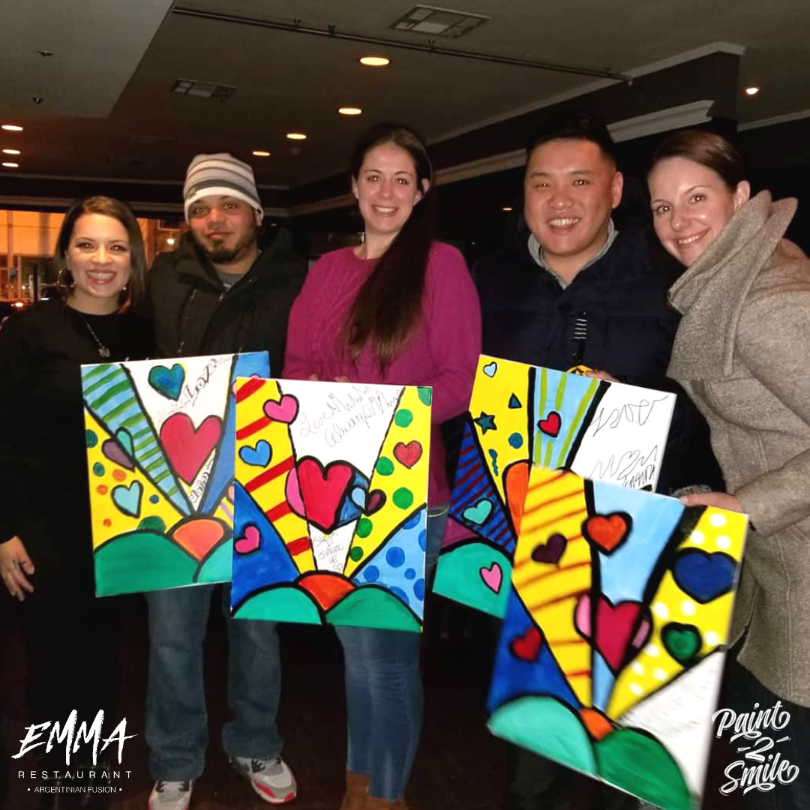 paint night bergen county