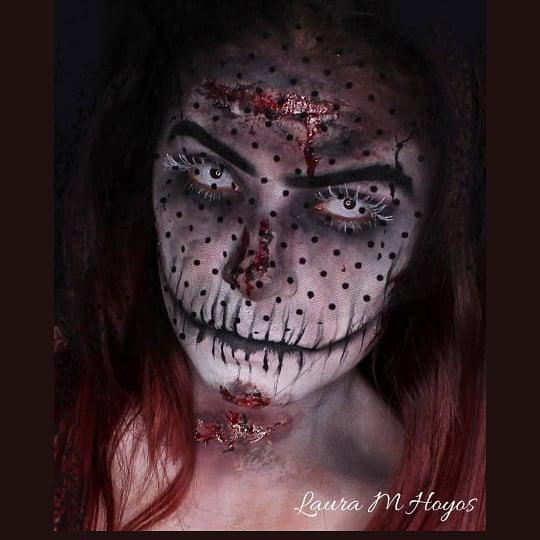 sfx makeup dead bride
