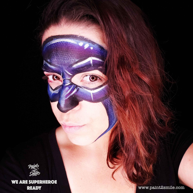 adult batman face paint mask