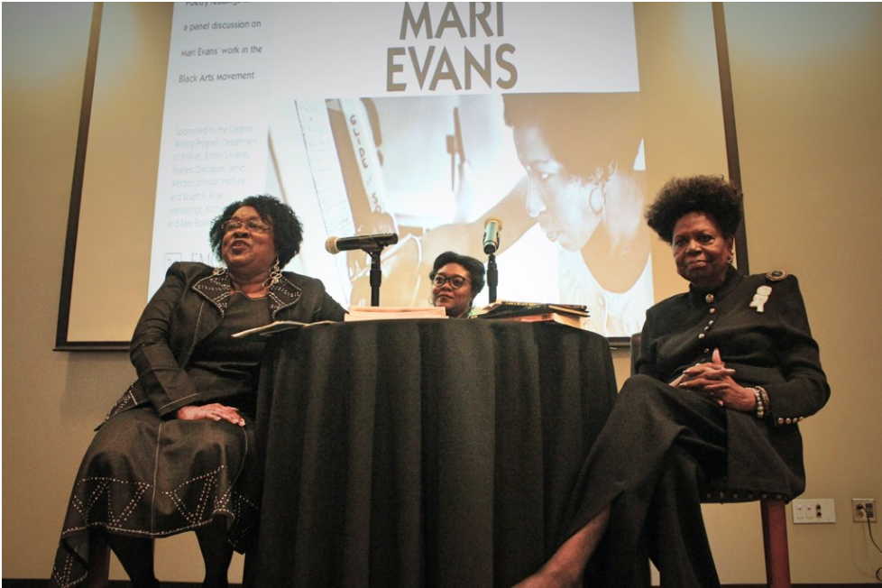 photo of Dr. Joanne Gabbin, Dr. Althea Tait, and Dr. Bettie Parker Smith