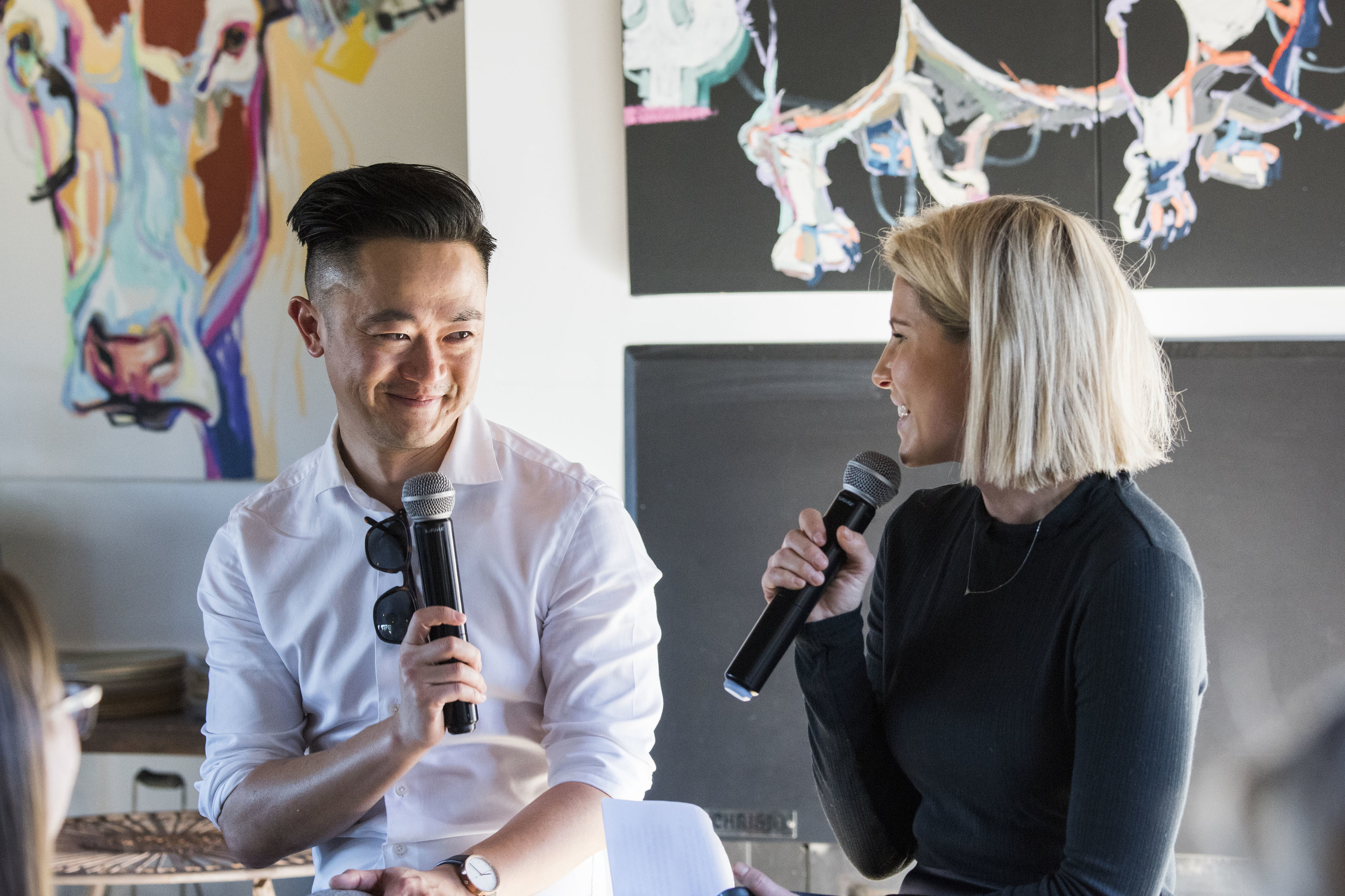 Benjamin Law and Summer Land in conversation at Pipeclay Pumphouse