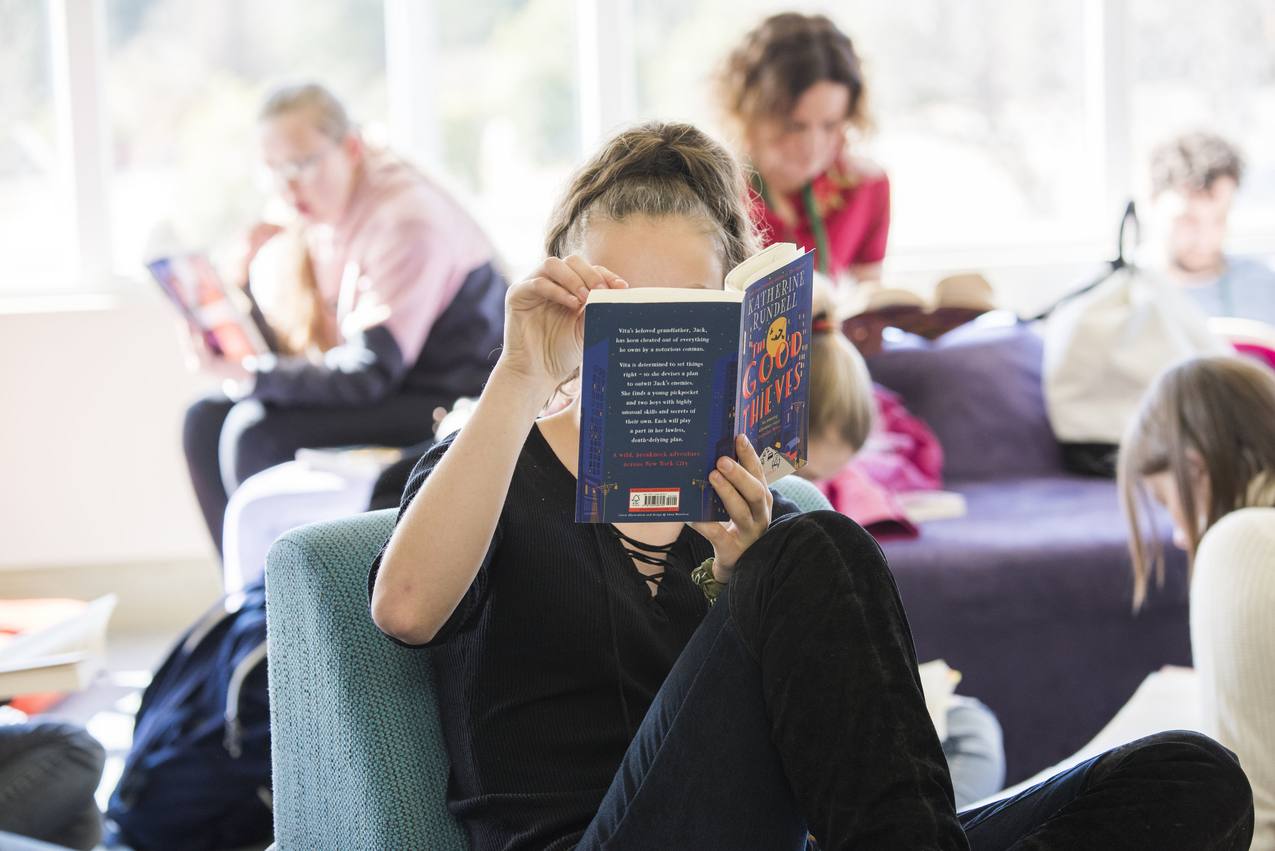 YA Silent Reading Party at the Mudgee Library