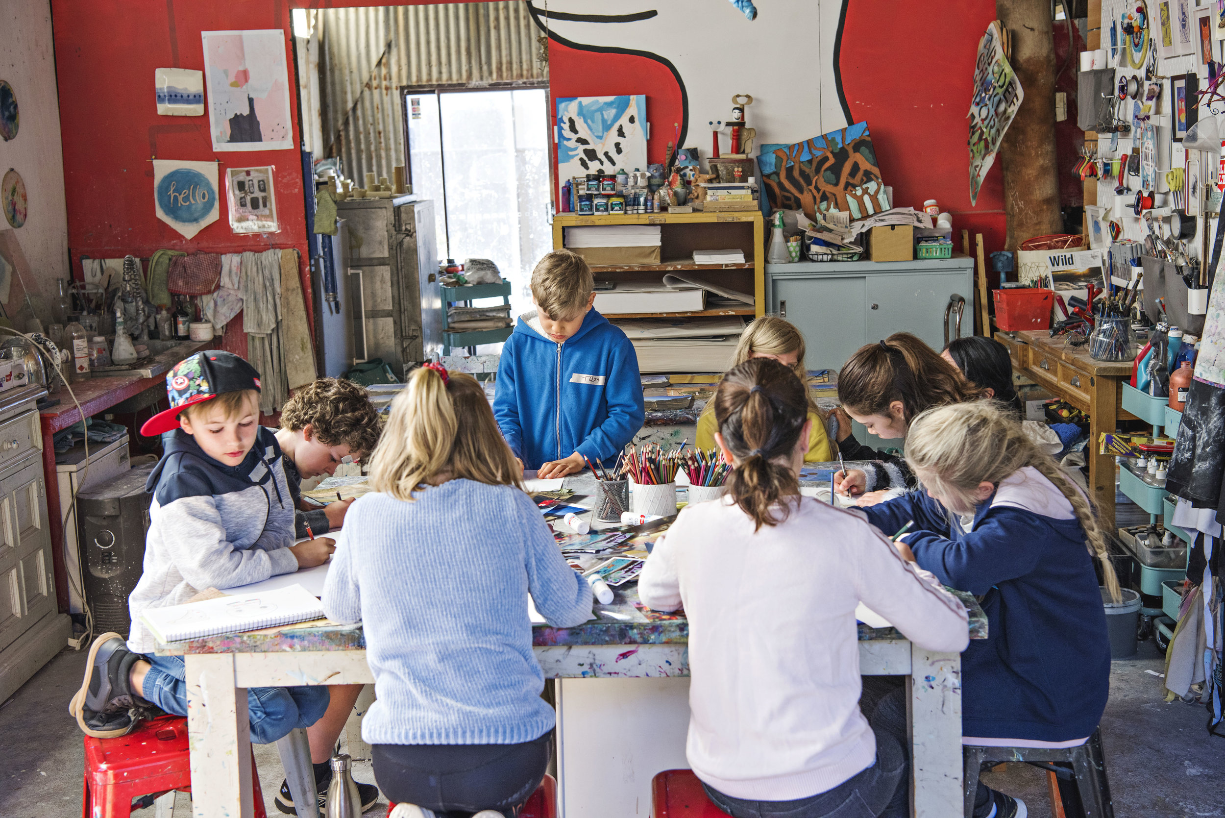 Make Your Own Book with Not Quite Newtown at the Mud Factory