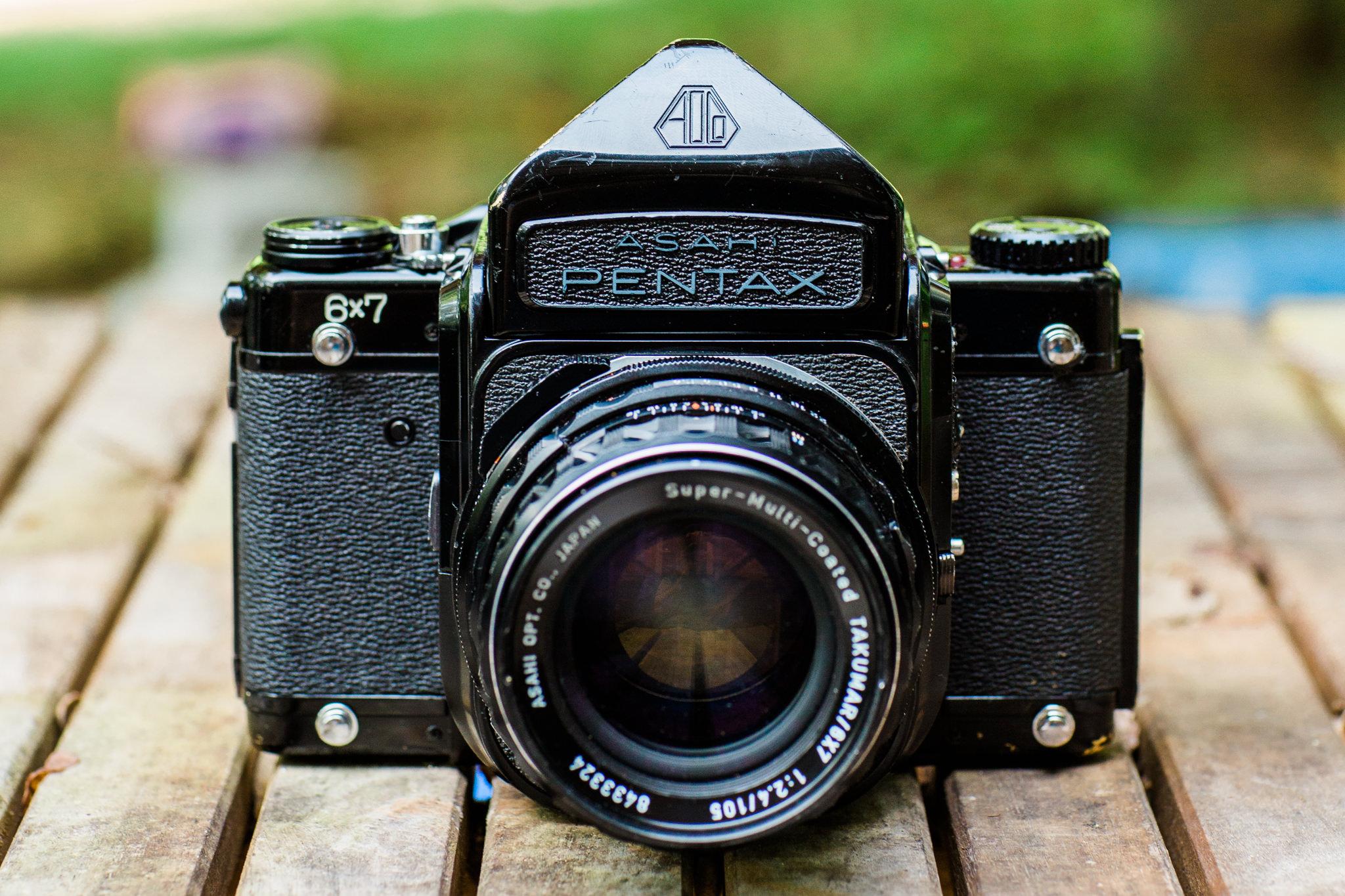 Pentax 6x7 MLU