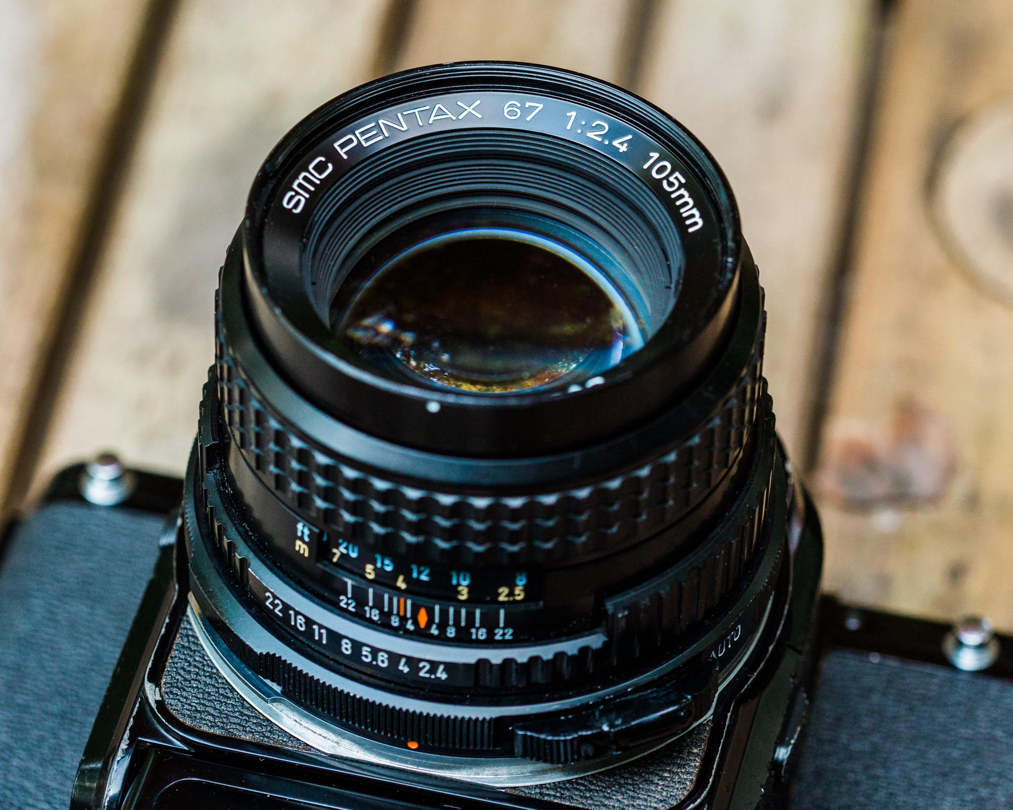SMC Pentax 67 105mm f/2.4 Lens