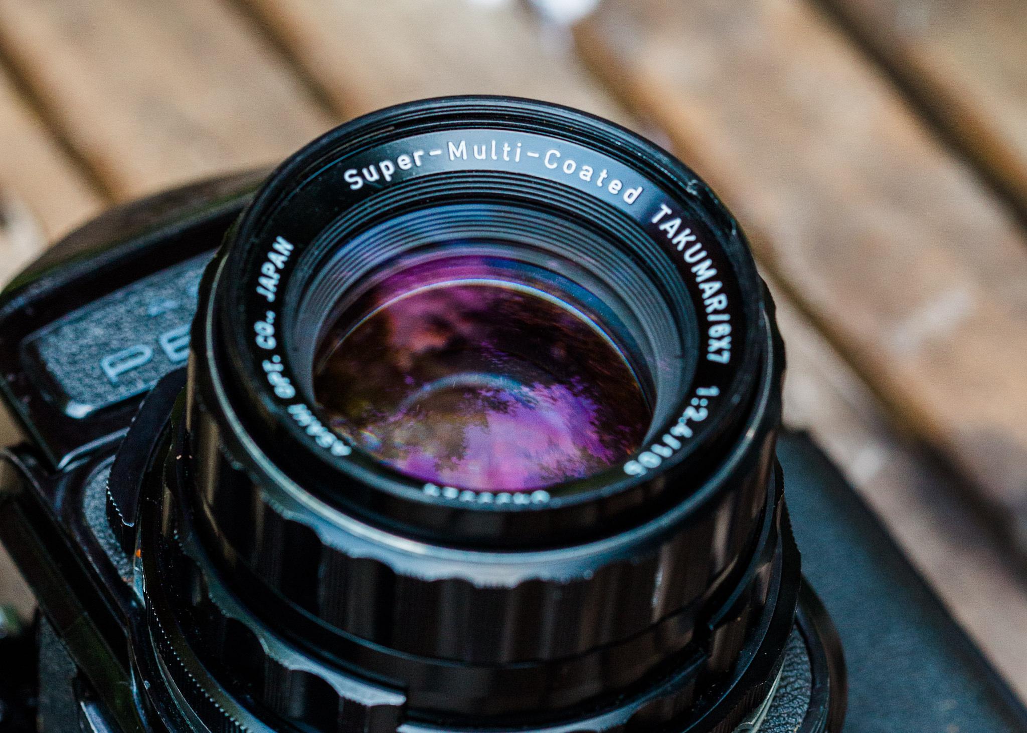 Super Multi Coated Takumar Pentax 6x7 105mm f/2.4 Lens