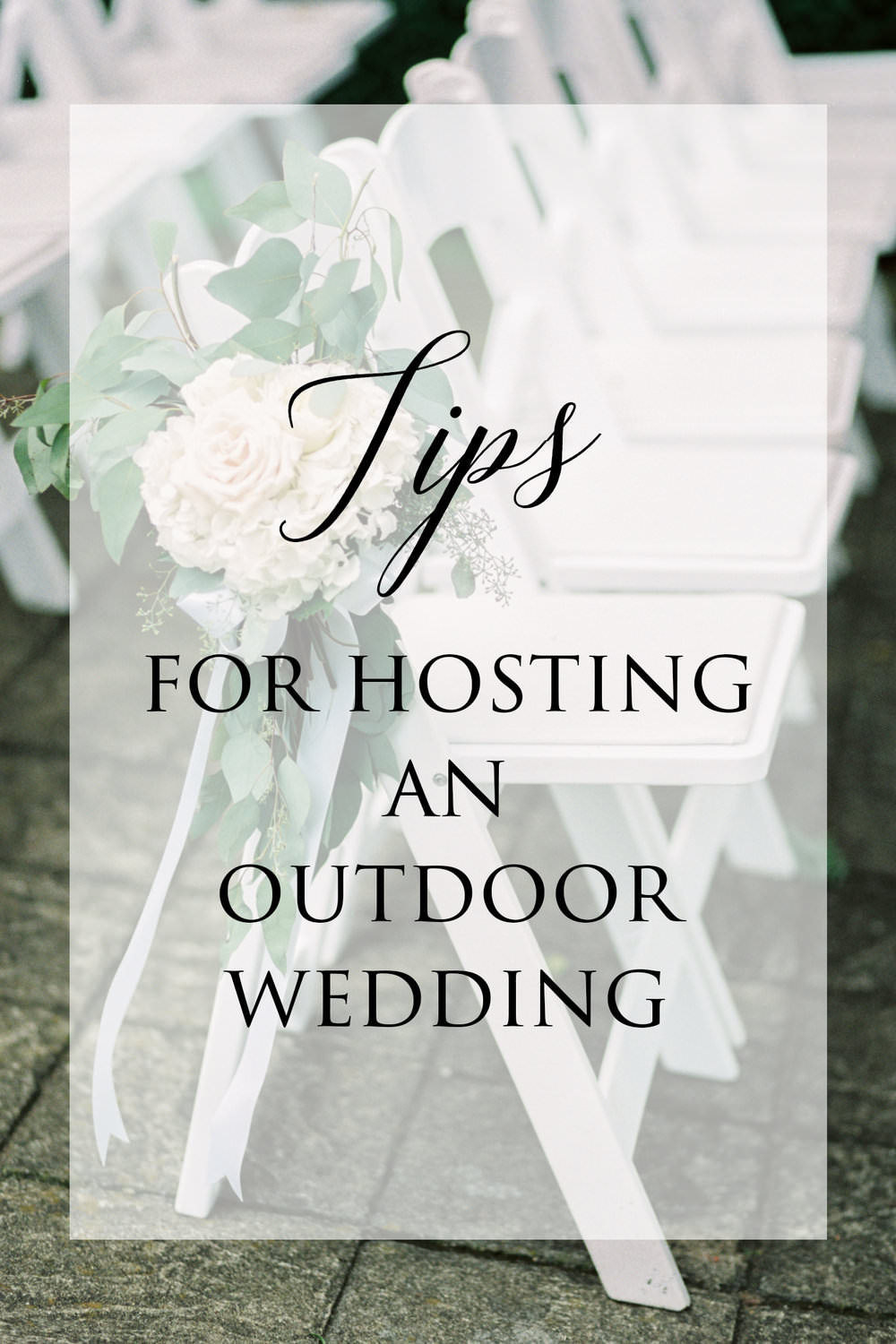 Outdoor Wedding Tips - Planning a wedding out in nature can often have a few specific challenges that ought to be considered well in advance of your big day. Here are some of our top tidbits of advice when it comes to hosting an outdoor wedding...read more