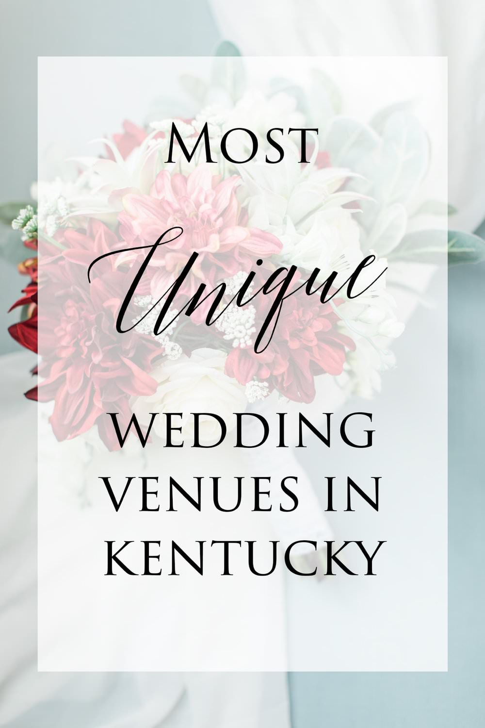 Unique Wedding Venues in Kentucky - If you and your soon-to-be spouse are seeking a ceremony and reception space that is a little more out of the box and farther away from the norm, we've got you covered. Take a look at some of the top unique wedding venues in Kentucky...read more
