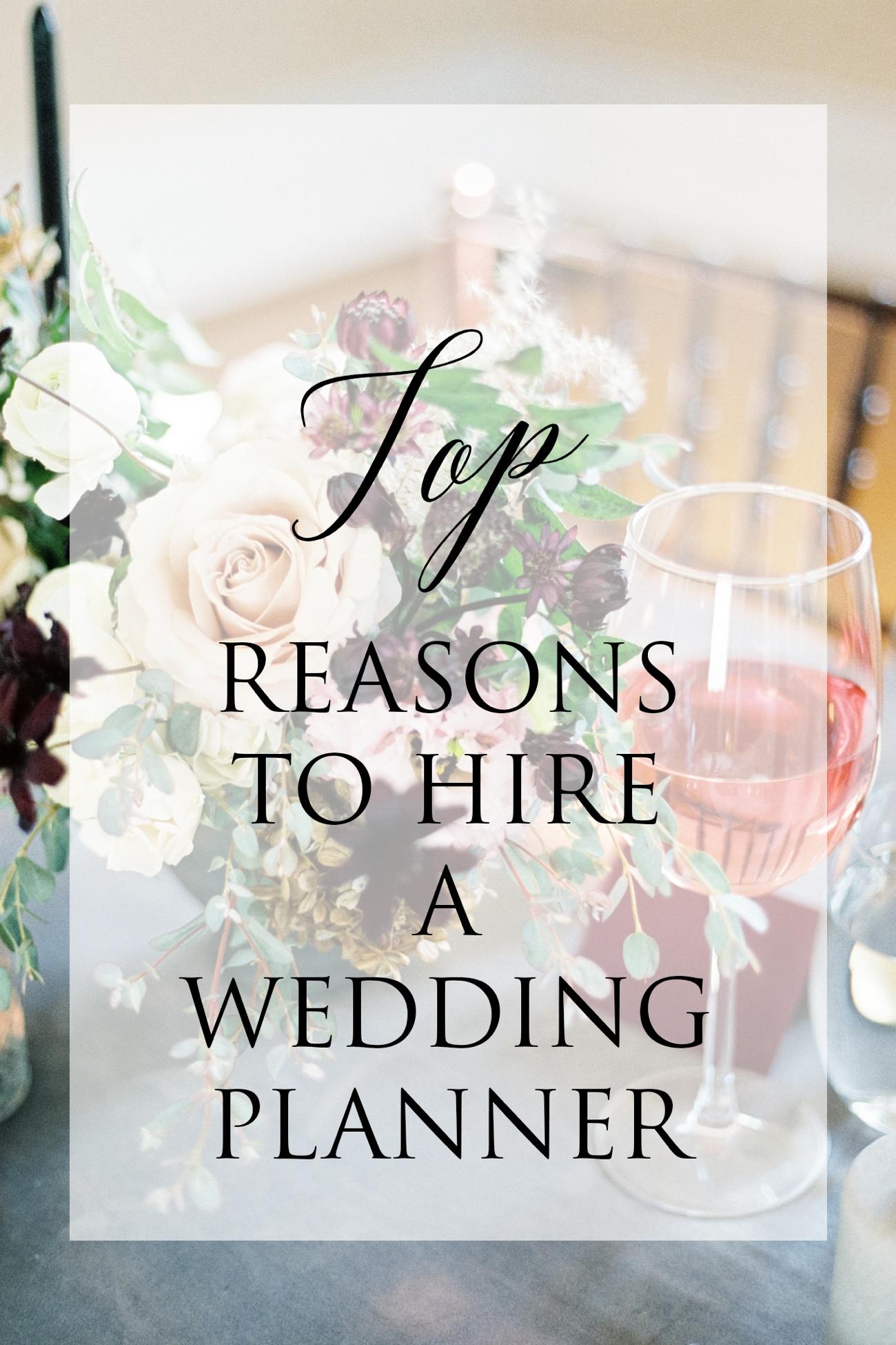 Top Reasons to Hire a Wedding Planner | Kentucky Wedding Photographer