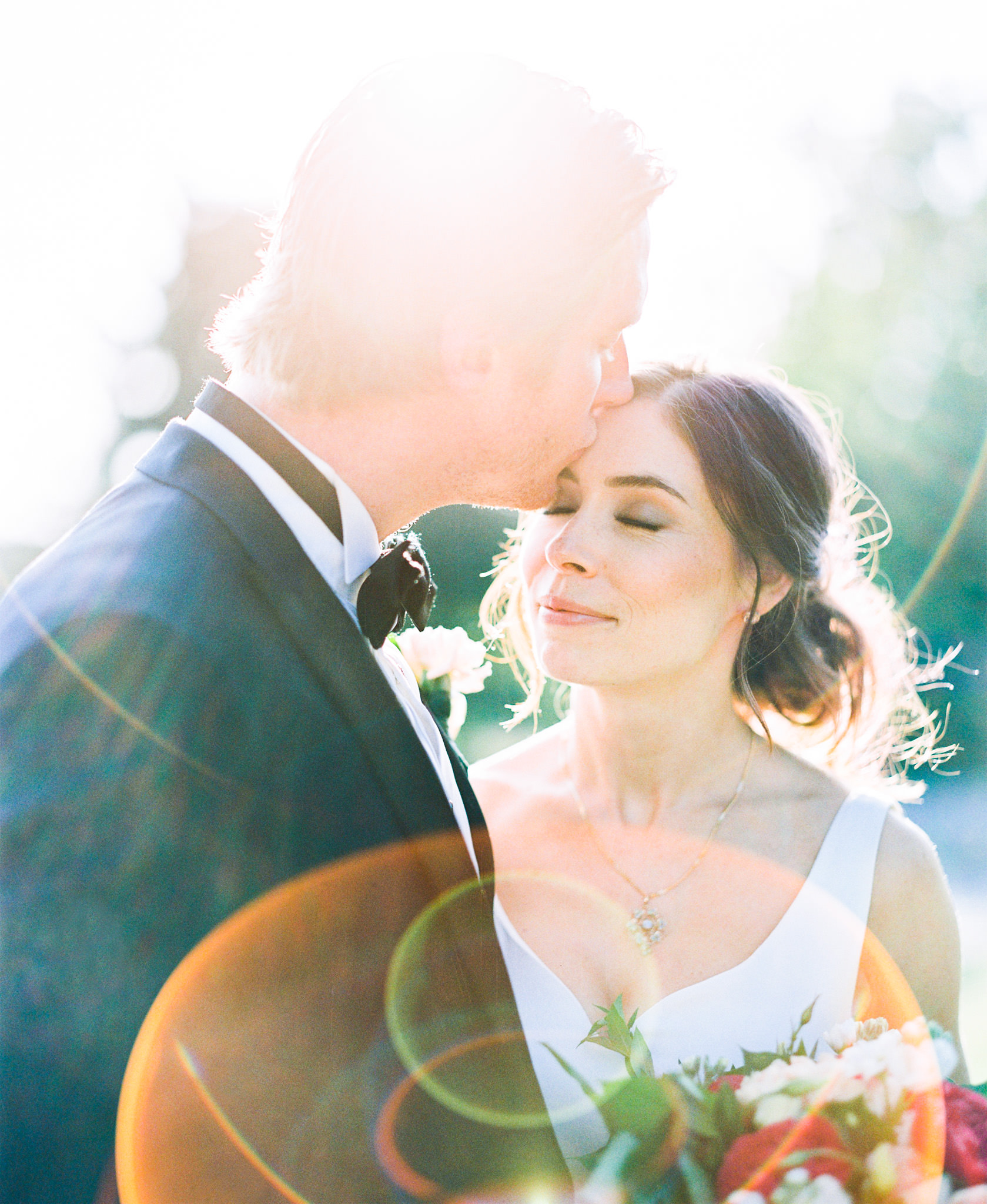 Why hire a wedding photographer that shoots film? A medium format image example