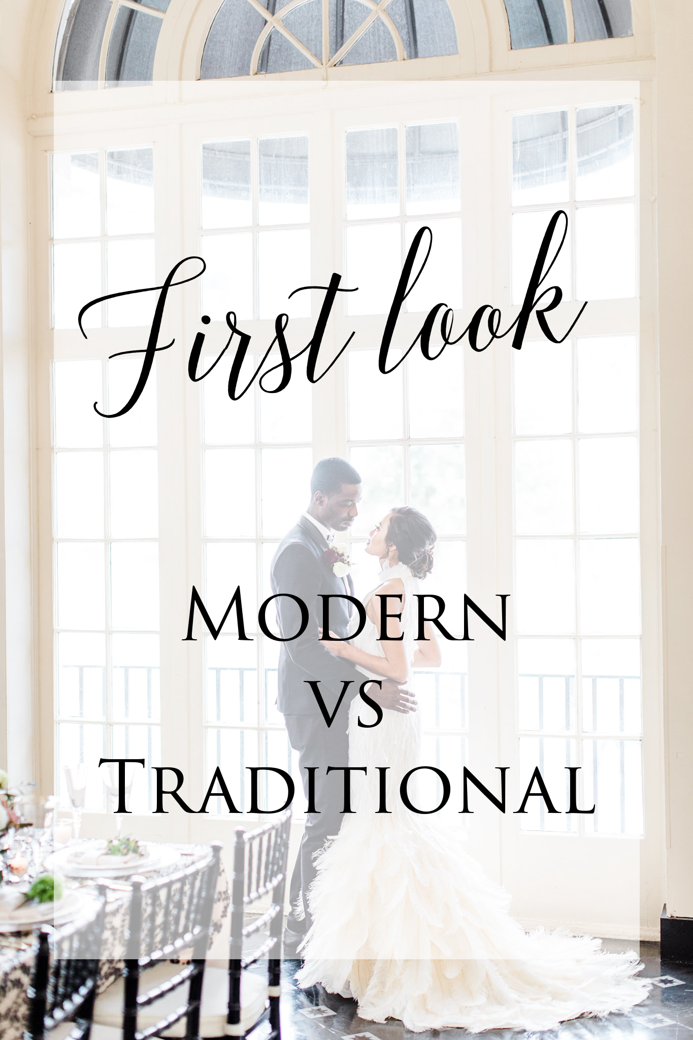 Should I Do a First Look? - The first time you see your spouse-to-be on your wedding day is probably the most anticipated part of your wedding day.If you're like most, you probably fit one of these three descriptions...read more
