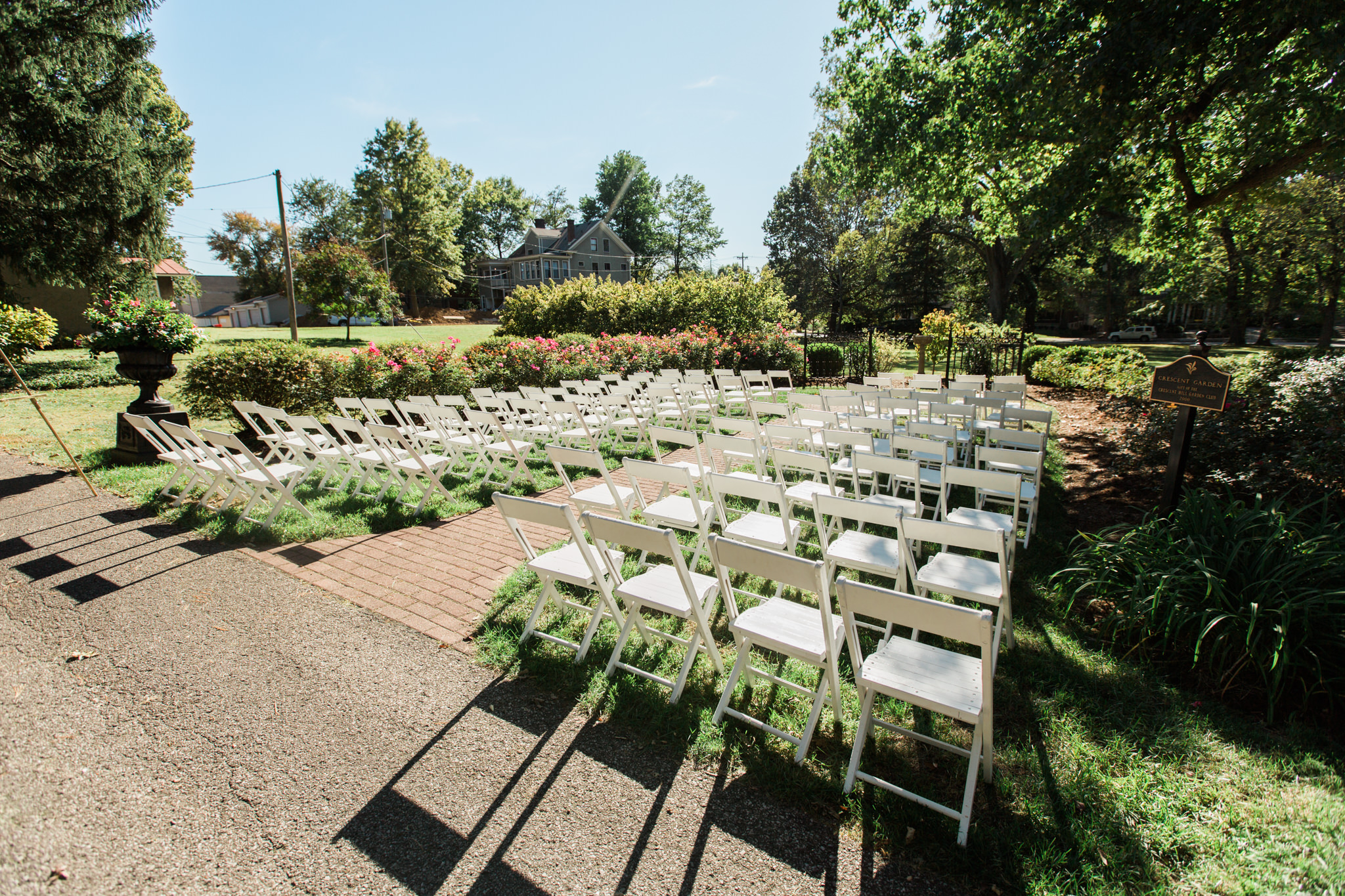 Peterson-Dumesnil House Outdoor Wedding Ceremony Location
