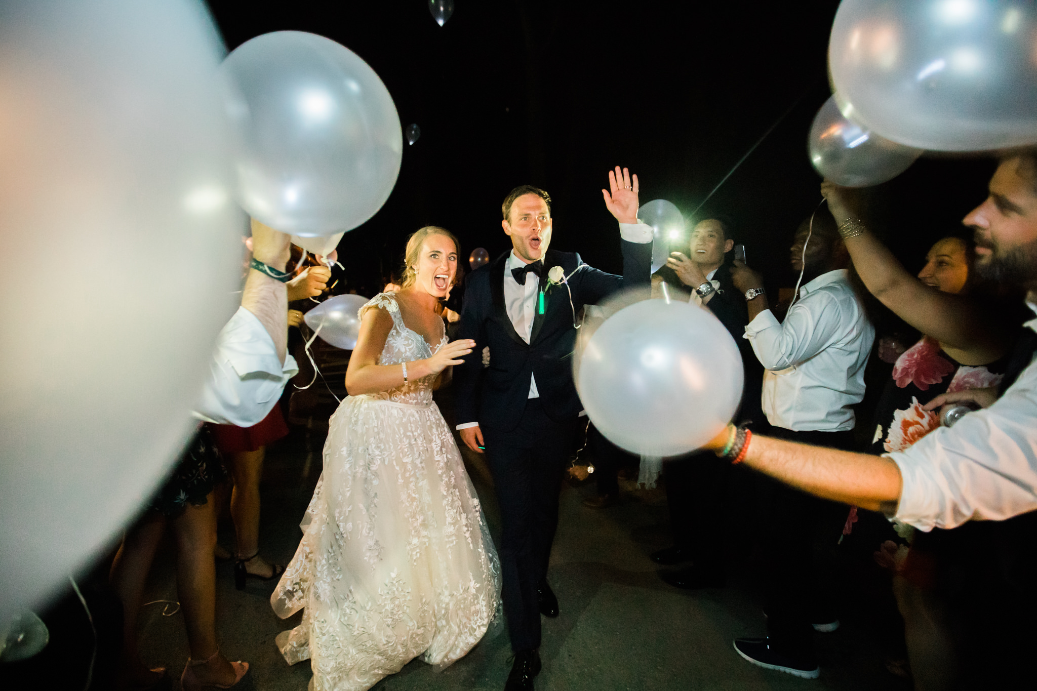 Low light wedding photo examples
