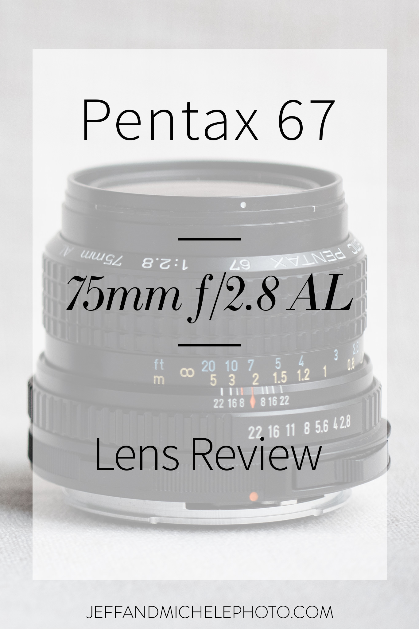 Photo of Overlay for Pentax 67 75mm f/2.8 AL Lens Review