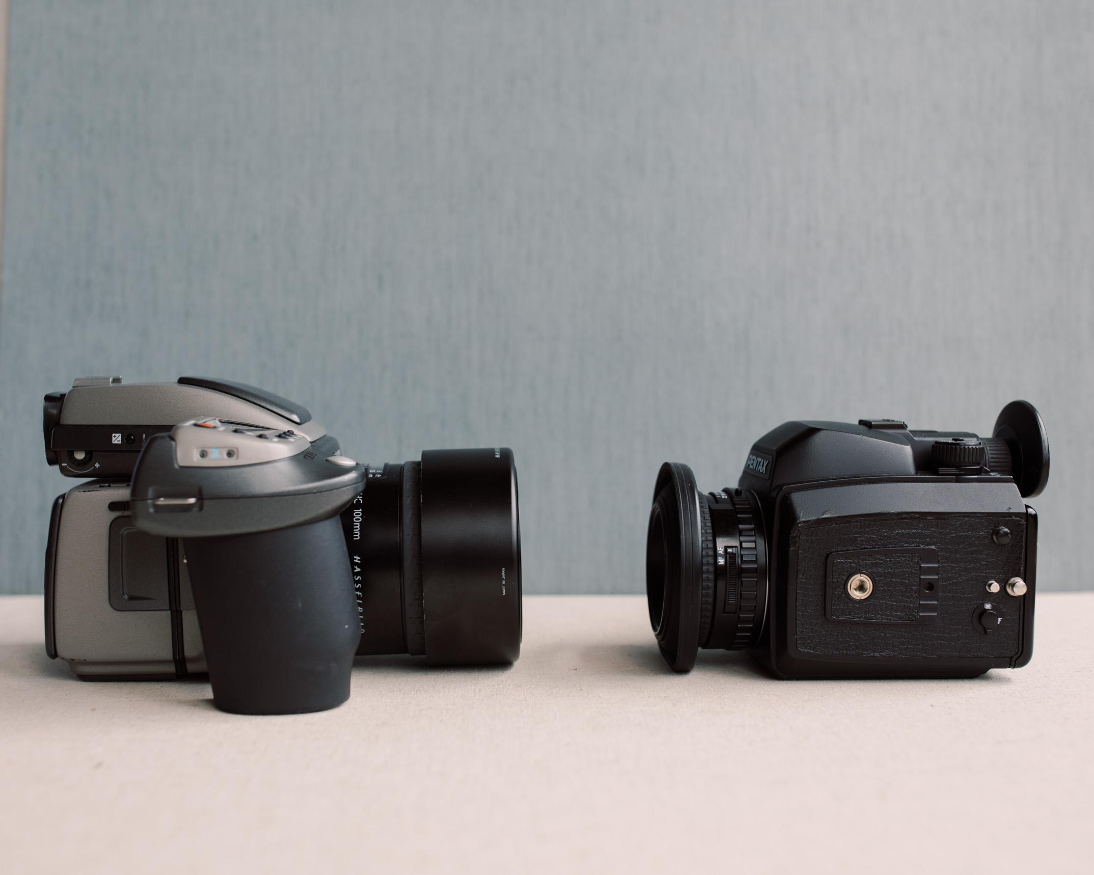 Hasselblad H2 vs Pentax 645nii