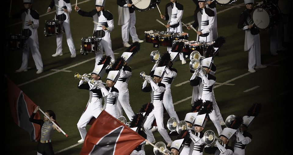 The Pride of Bixby Performs at the BOA St. Louis Super-Regional