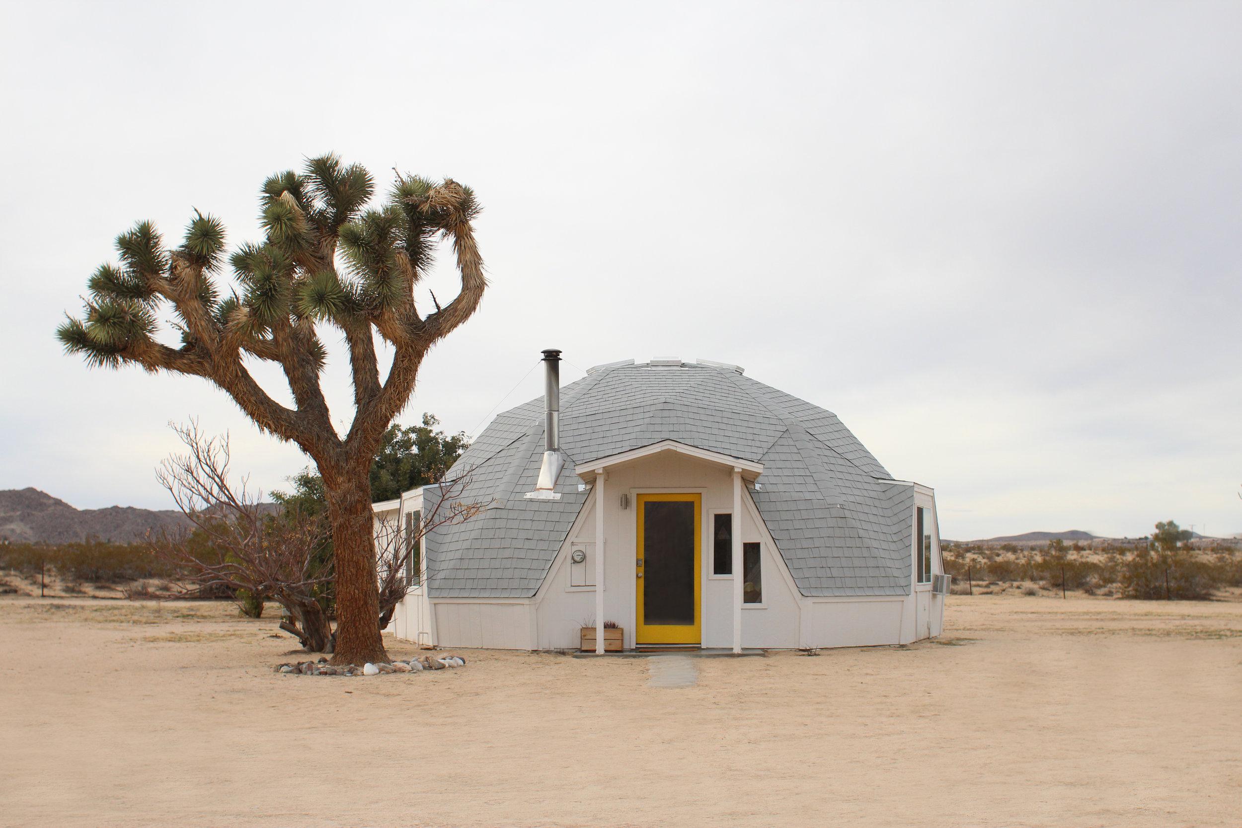 Dome in the Desert // www.weareinourelement.com