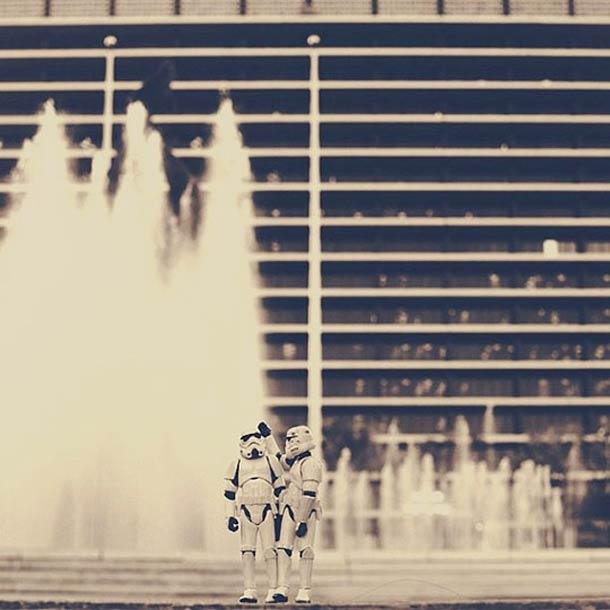 stormtrooper starwars sea at last