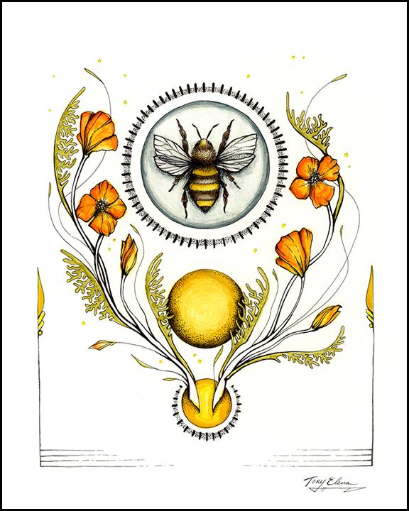 California Honey Bee