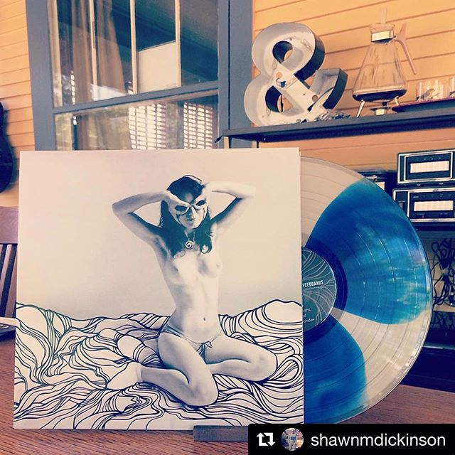 #Repost @shawnmdickinson with @get_repost ・・・ One of the fun things about buying entire record collections is exploring records you probably never would have owned. This beautiful record came from a collection I bought last year.  Sea At Last Atlas Feedbands (2017) Hand numbered 191/1200