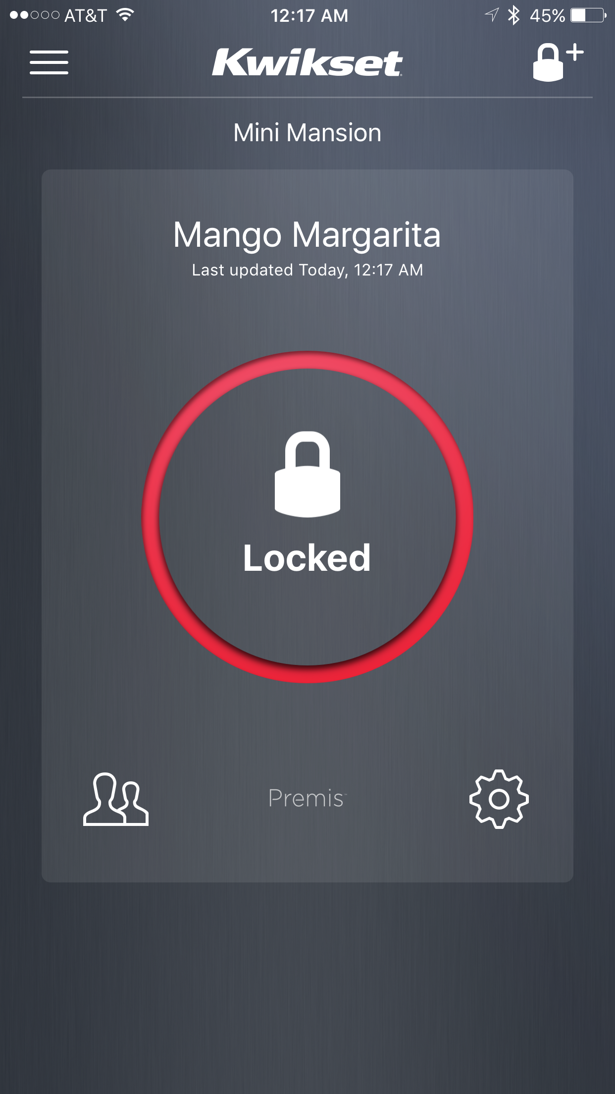 I like to name security devices funny names, to prevent accidental voice activation by others.