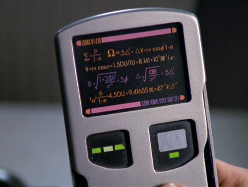 """A """"PADD"""" from Star Trek. Image from Paramount Pictures / CBS Studios"""