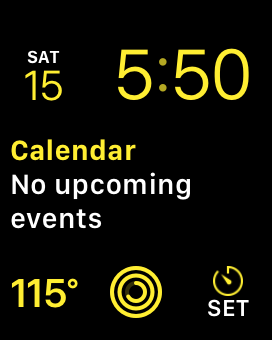 Why not give us a smart home-centric Watch face option, Apple?