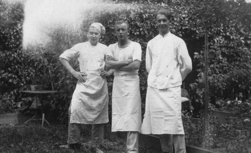 Far right: Emil Schwob