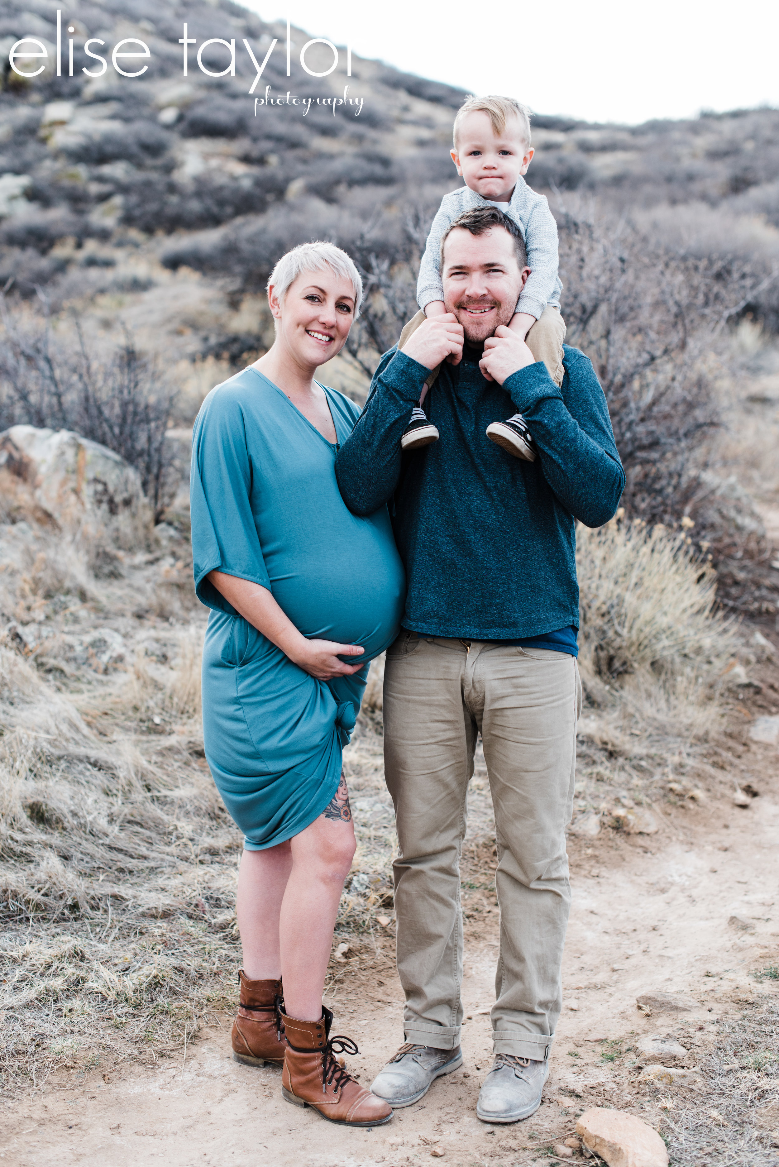 Mariana Butte, Loveland Colorado Maternity Session