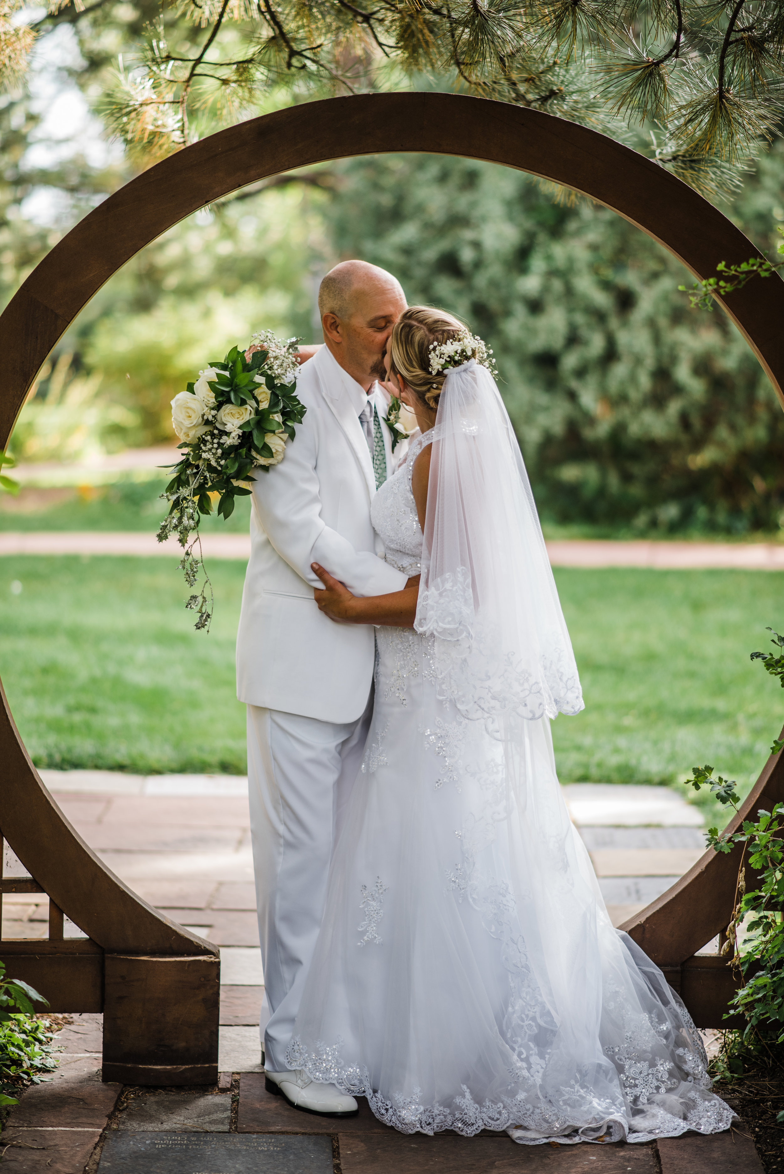 Cheyenne, Wyoming Botanic Garden Wedding