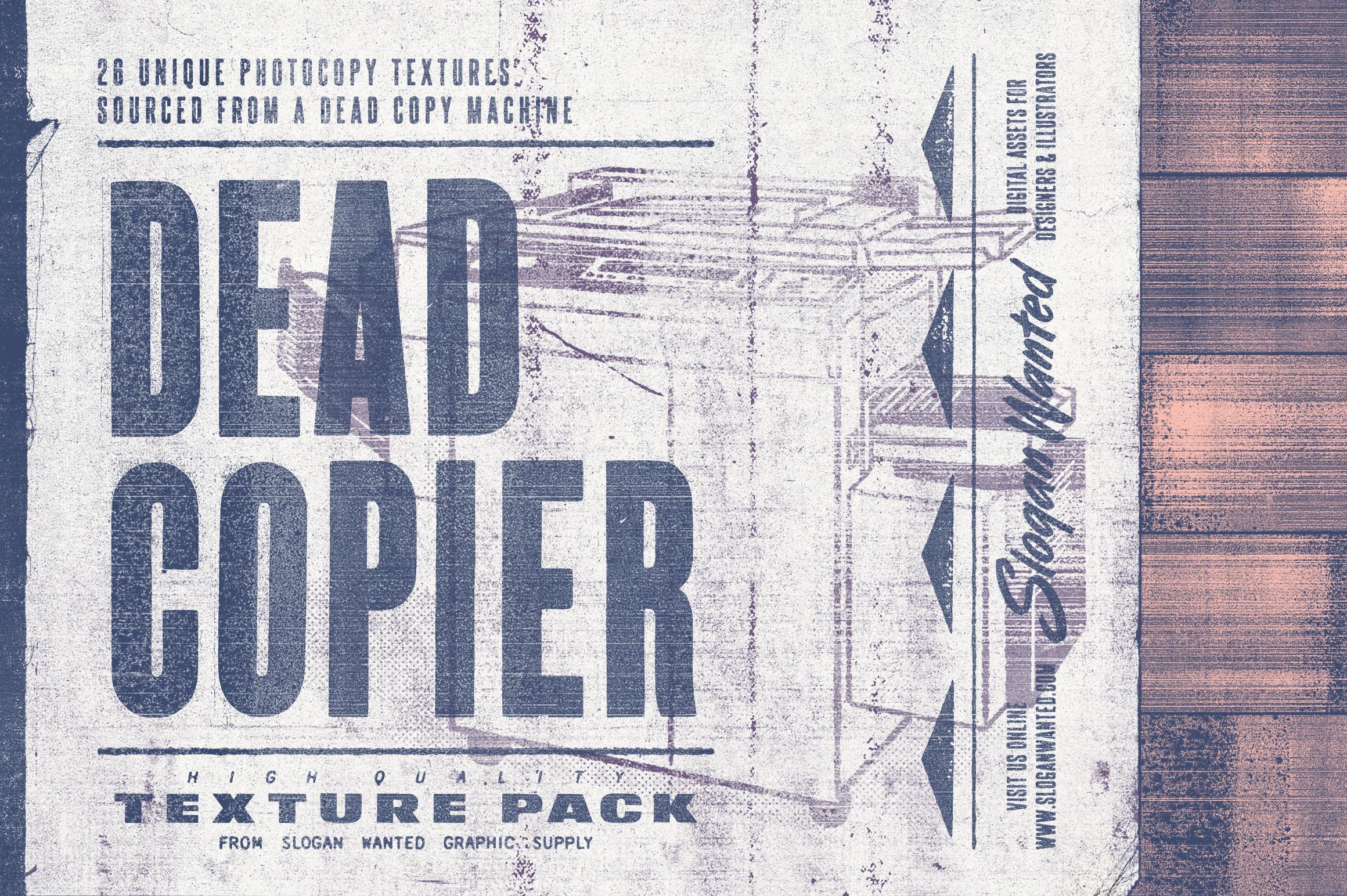 Dead Copier | Photocopy Texture Pack