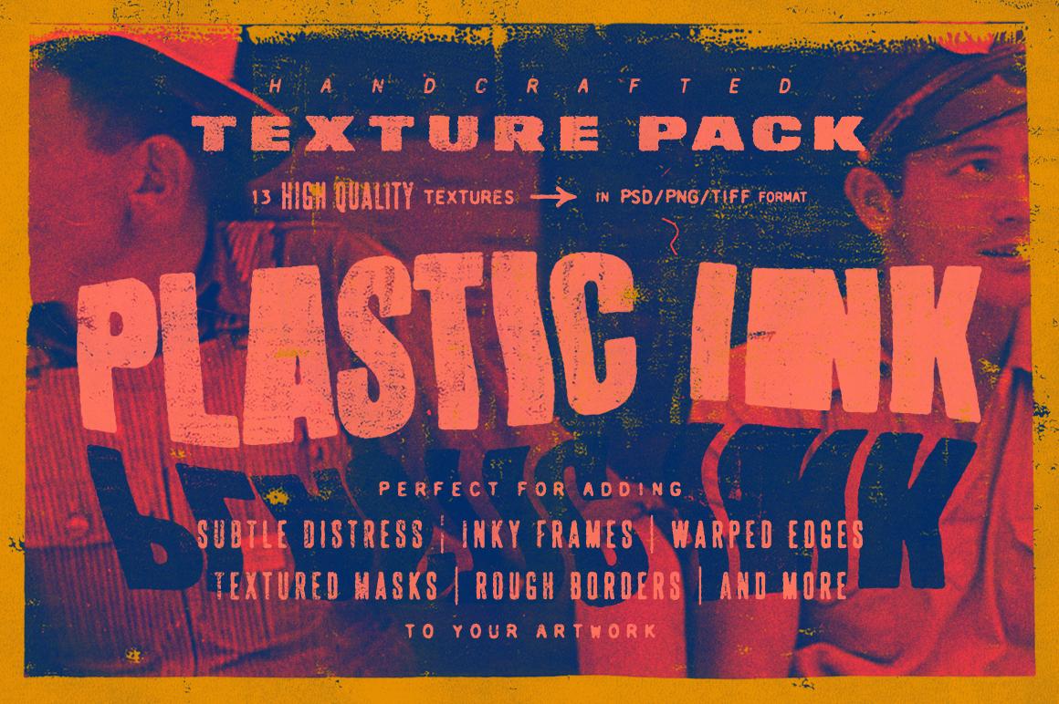 Plastic Ink | Texture Pack