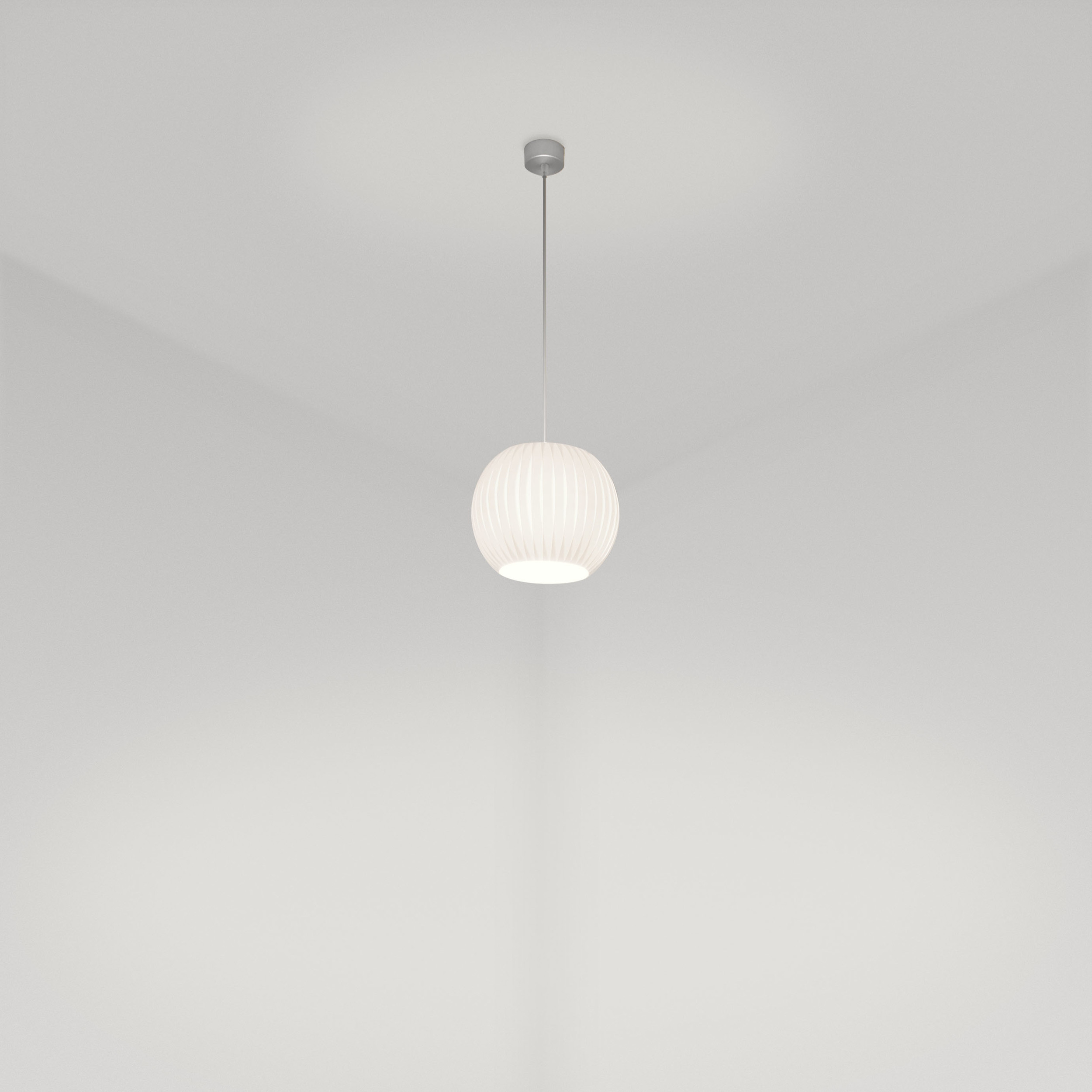 Orbit 300 Pendant in white