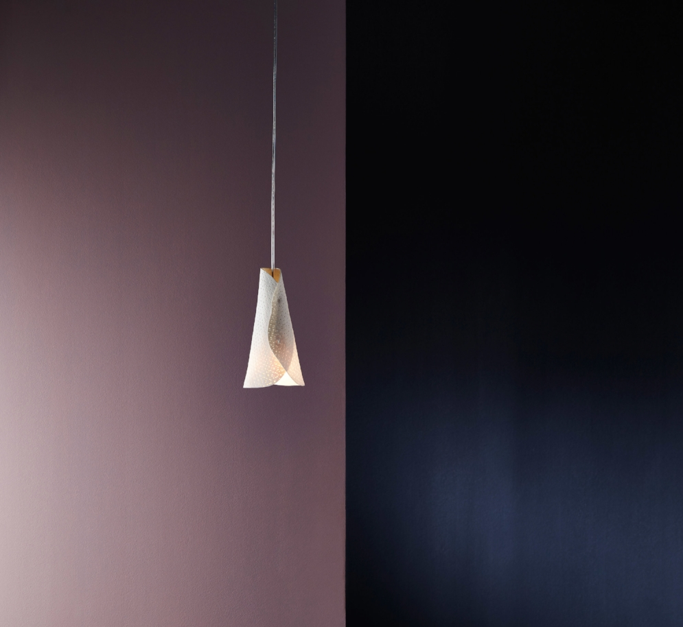 ISM Objects_Stippled Porcelain_Cone Pendant_01.jpg
