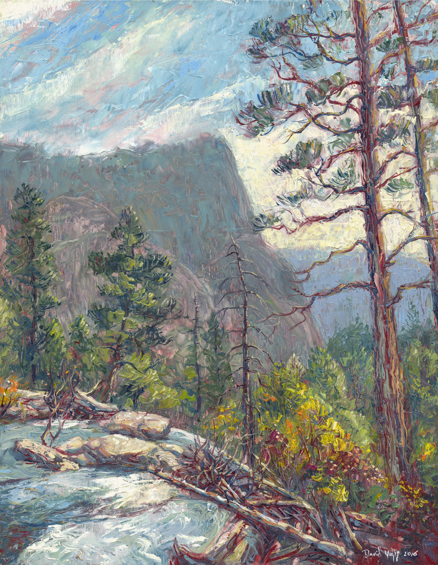 Lover's Leap from Pyramid Creek