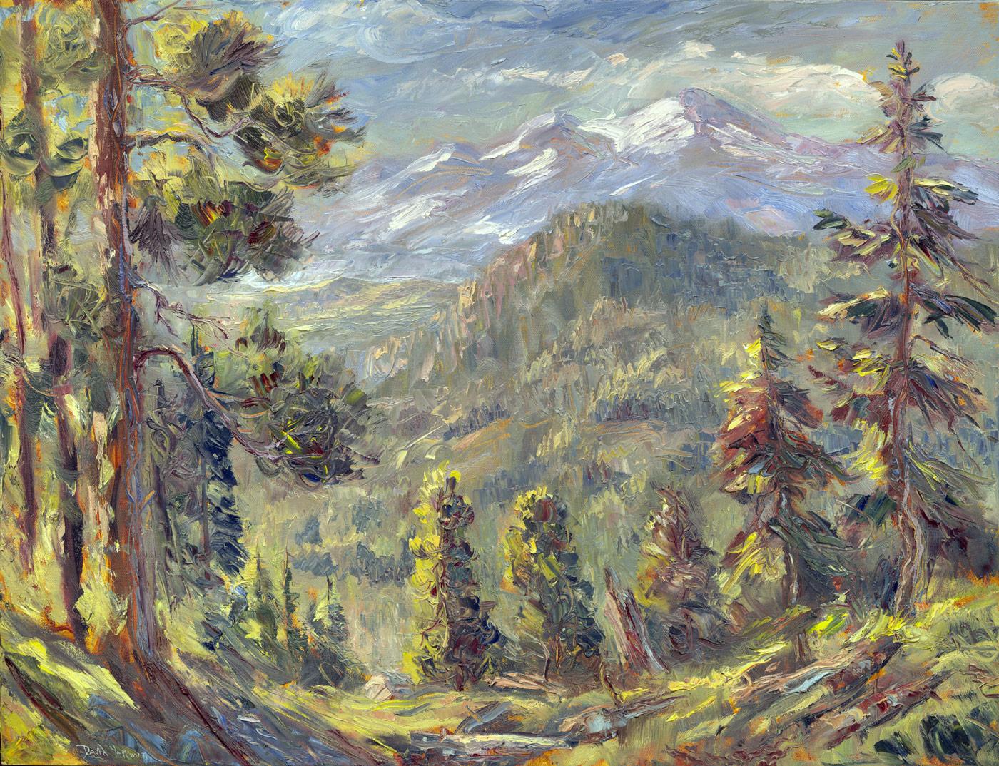 The Crystal Range from Iron Mountain Ridge