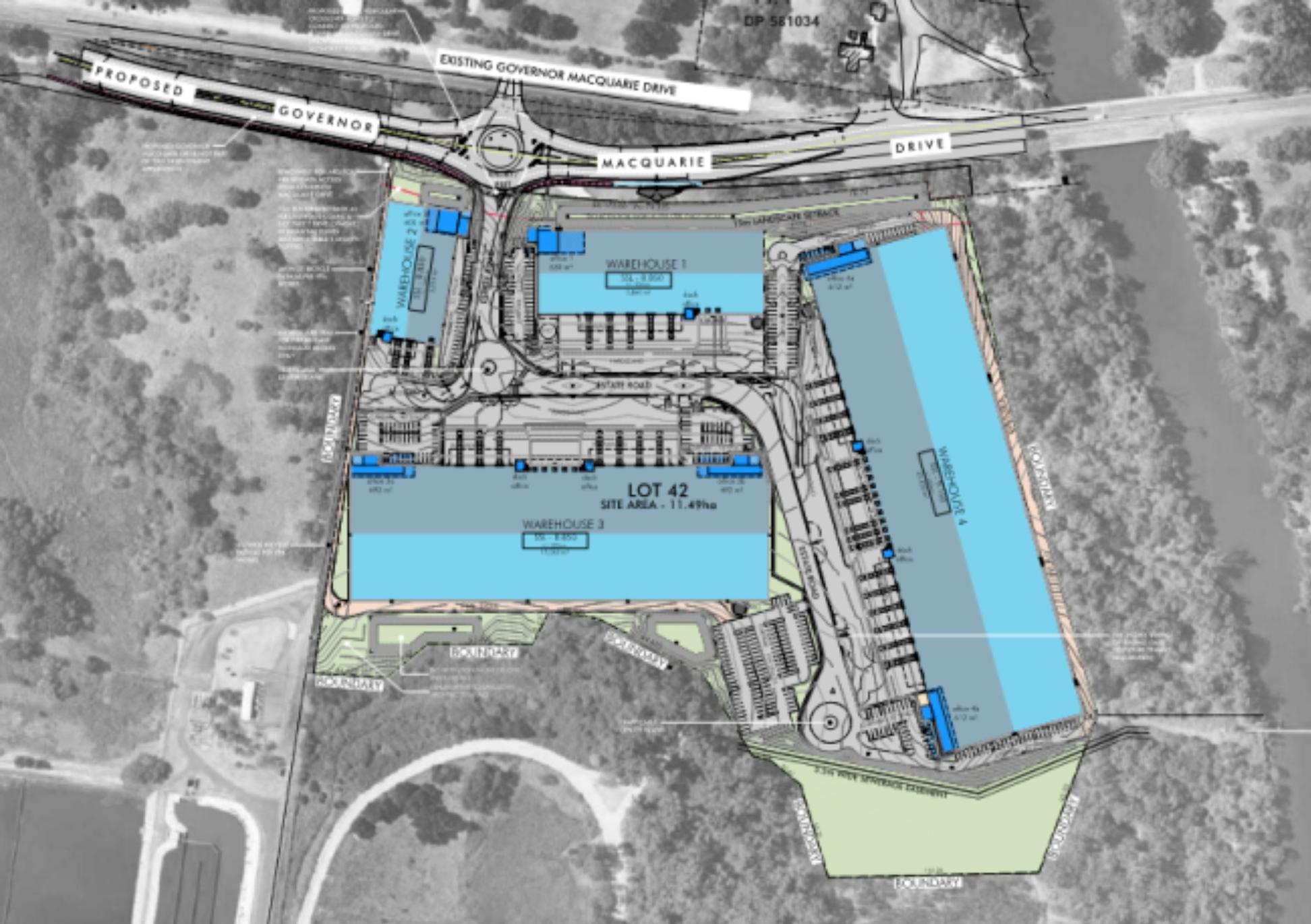 Coopers Paddock Industrial Estate