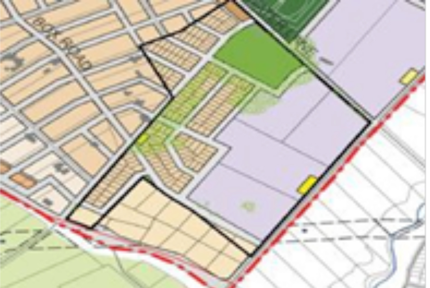 Review of Masterplan, Box Hill