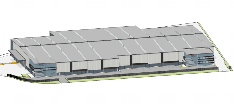 Staged Warehouse & Distribution Facility