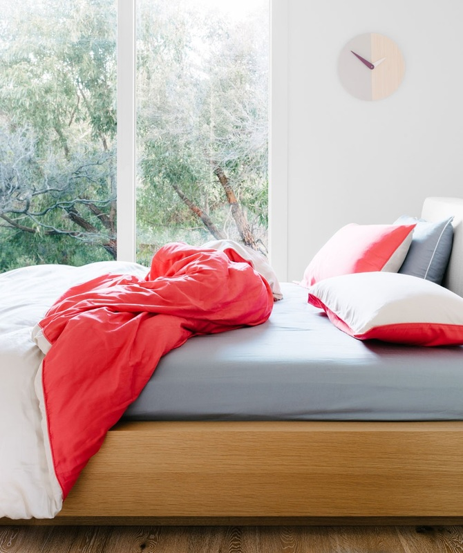 """Billie Quilt Set - """"That brazen girl next door making you weak at the knees, teasingly switching from serious to flirty in a matter of seconds. The Billie Quilt Set is made from 100% cotton, 400 thread count and free from harmful chemicals. Available in Single, Double, Queen, King & Super King. From $149"""""""