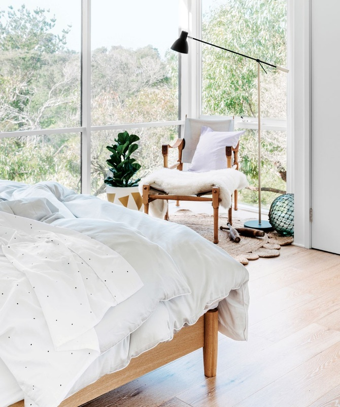 """Smoke Quilt Set  - """"Understated and classic, this cool cat won't try to impress you. After all, he already has your full attention. The Smoke Quilt Set is made from 100% cotton, 400 thread count and free from harmful chemicals. Available in Single, Double, Queen, King & Super King. From $149 - The Smoke quilt set has been styled with the Eskimo Sheet Set."""""""